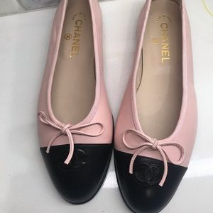 Channel Ballerina flats
